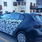 Fiat Tipo hatchback rear quarter spotted up close