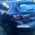 Fiat Tipo hatchback rear spotted up close