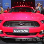 Ford Mustang front Indian debut