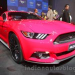 Ford Mustang front quarter Indian debut