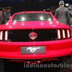 Ford Mustang rear Indian debut