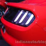 Ford Mustang rear end Indian debut