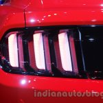 Ford Mustang taillamp Indian debut