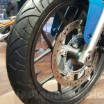 Hero HX250R disc brake at Auto Expo 2016