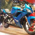 Hero HX250R front three quarters at Auto Expo 2016