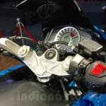 Hero HX250R instrument cluster at Auto Expo 2016