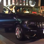 Jeep Grand Cherokee SRT front showcased in Bangalore