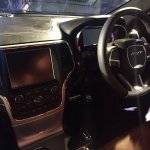 Jeep Grand Cherokee SRT interior showcased in Bangalore