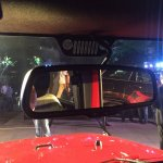 Jeep Grand Wrangler Unlimited rear view mirror showcased in Bangalore