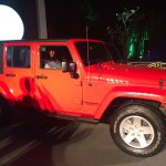 Jeep Grand Wrangler Unlimited side showcased in Bangalore