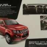Mahindra Imperio brochure features