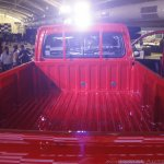 Mahindra Imperio cargo bay red single cab