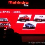 Mahindra Imperio colours