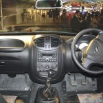 Mahindra Imperio interior blue double cab