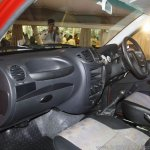 Mahindra Imperio interior dashboard red single cab
