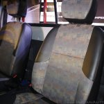 Mahindra Imperio seats red single cab