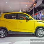 Mahindra KUV100 Yellow side at Auto Expo 2016