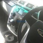 Mahindra KUV100 gear lever spyshot