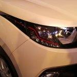 Mahindra KUV100 headlight live image