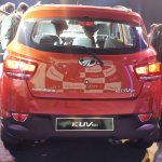 Mahindra KUV100 rear end live image