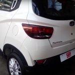 Mahindra KUV100 tailgate revealed spied