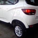 Mahindra KUV100 taillight revealed spied