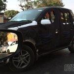 Mahindra Quanto facelift (Mahindra Canto) front three quarter snapped