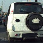 Mahindra Quanto facelift (Mahindra Canto) rear snapped