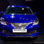 Maruti Baleno RS concept front at Auto Expo 2016