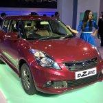 Maruti Swift Dzire Auto Gear Shift front three quarters at Auto Expo 2016
