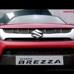 Maruti Vitara Brezza front nearly revealed