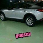 Mazda CX-4 spied undisguised