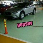 Mazda CX-4 uncamouflaged spy shot