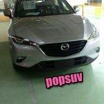 Mazda CX-4 undisguised spy shot
