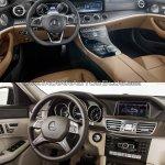 Mercedes E Class (W213) vs Mercedes E Class (W212) interior (1) Old vs New
