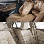 Mercedes E Class (W213) vs Mercedes E Class (W212) seats Old vs New