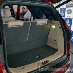 New Ford Endeavour boot space with third row up In Images