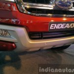 New Ford Endeavour bumper In Images