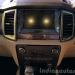 New Ford Endeavour center console In Images