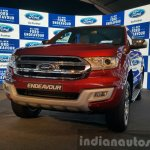 New Ford Endeavour front quarter In Images