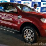 New Ford Endeavour front three quarter In Images