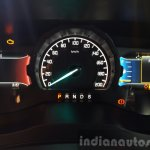 New Ford Endeavour instrument cluster In Images