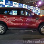 New Ford Endeavour side In Images