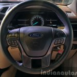 New Ford Endeavour steering wheel In Images
