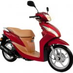 New Honda Spacy Euphoria Red Metallic