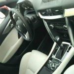 Red Mazda CX-4 dashboard spyshot