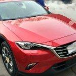 Red Mazda CX-4 front spyshot