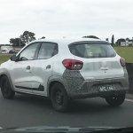 South American-spec Renault Kwid spyshot