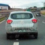 South American-spec Renault Kwid test mule