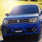 Suzuki Ignis brochure scans front surface